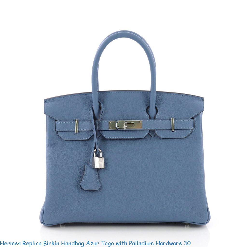 5d43968c193 Hermes Replica Birkin Handbag Azur Togo with Palladium Hardware 30 – Replica  Hermes Belts – Highest Quality Hermes Replica Belts On The Market