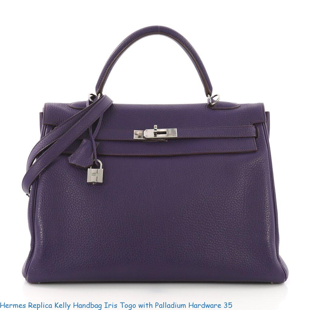 30c6ca351ef Hermes Replica Kelly Handbag Iris Togo with Palladium Hardware 35 – Replica  Hermes Belts – Highest Quality Hermes Replica Belts On The Market