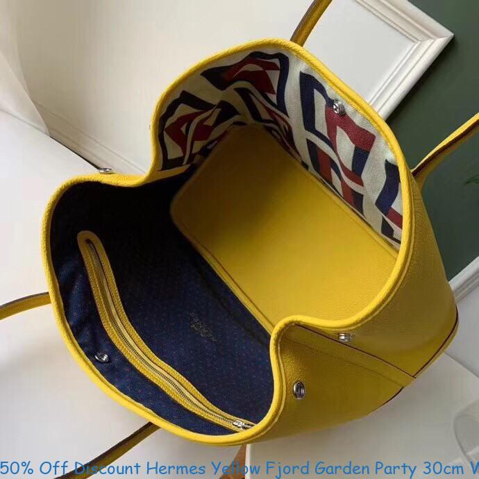 50 Off Discount Hermes Yellow Fjord Garden Party 30cm